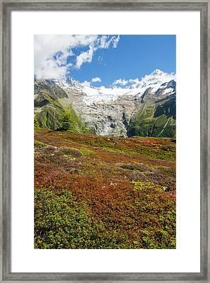 The Aiguillette Des Posettes Framed Print