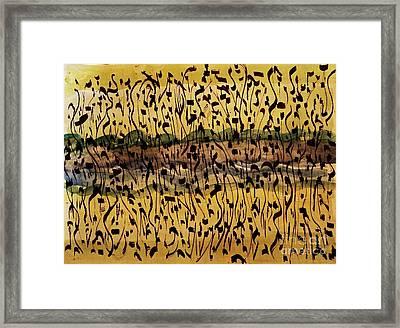 The Air We Breathe Framed Print by Nancy Kane Chapman