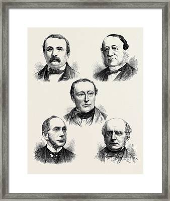 The Alabama Claims The Geneva Court Of Arbitration Top Left Framed Print