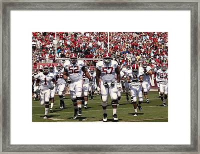 The Alabama Crimson Tide Framed Print by Mountain Dreams