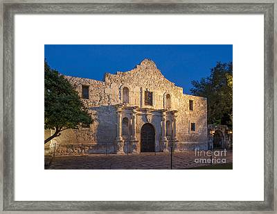 The Alamo Framed Print by Brian Jannsen