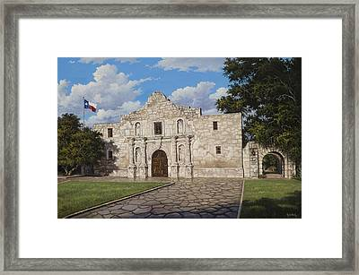 The Alamo Framed Print