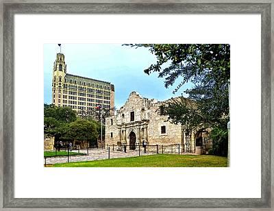 Framed Print featuring the photograph The Alamo by Ricardo J Ruiz de Porras