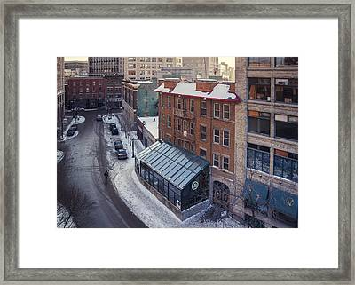 The Albert Framed Print by Bryan Scott