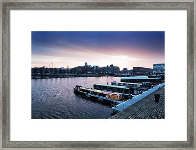 The Albert Dock, Liverpool, England Framed Print by Panoramic Images