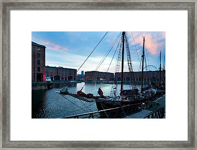 The Albert Dock, Liverpool, Merseyside Framed Print by Panoramic Images
