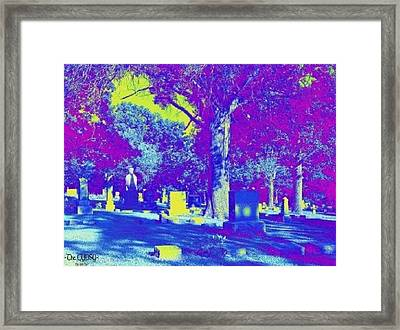 The Albino Woman Of Topeka Framed Print by The GYPSY And DEBBIE