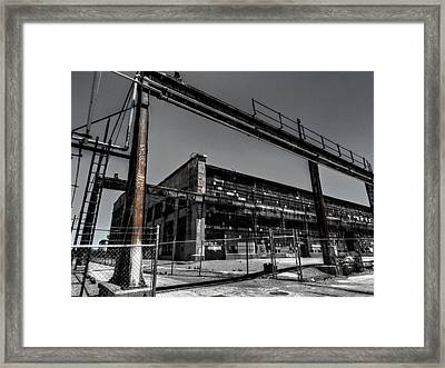 The Albuquerque Rail Yards 002 Framed Print by Lance Vaughn