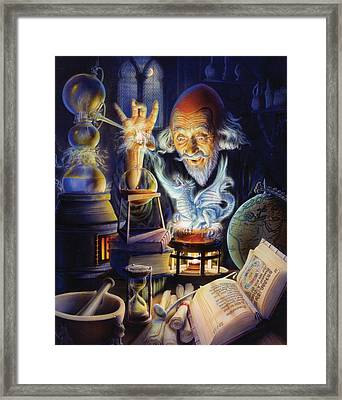 The Alchemist Framed Print by Andrew Farley