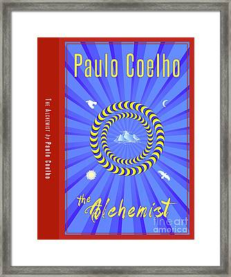The Alchemist Book Cover Poster Art 1 Framed Print by Nishanth Gopinathan