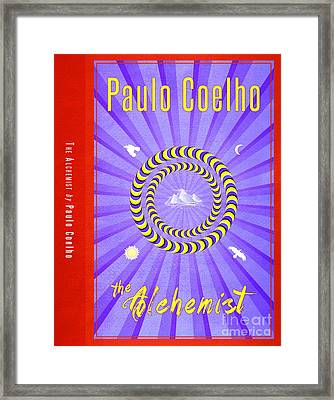 The Alchemist Book Cover Poster Art 2 Framed Print by Nishanth Gopinathan
