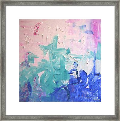 Framed Print featuring the painting The Alchemist by Ilona Svetluska