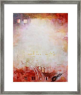 The Alchemist Framed Print by Sandra Cohen