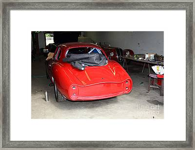 The Alfa Romeo Garage 5d25290 Framed Print by Wingsdomain Art and Photography