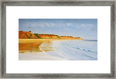 The Algarve Framed Print by Heather Matthews