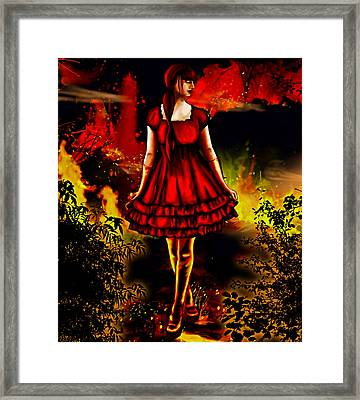 The Alice Girl Framed Print