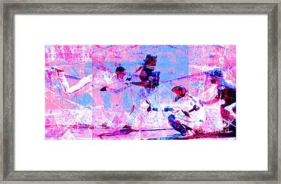 The All American Pastime 20140501 Long V2 Framed Print by Wingsdomain Art and Photography