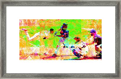 The All American Pastime 20140501 Long Framed Print by Wingsdomain Art and Photography