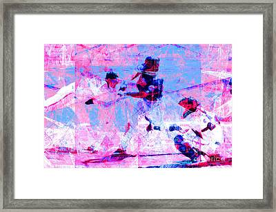 The All American Pastime 20140501 V2 Framed Print by Wingsdomain Art and Photography