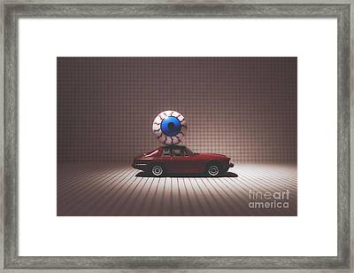 The All Seeing Eye Framed Print by Catherine MacBride
