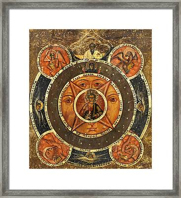 The All Seeing Eye Of God Framed Print by Unknown