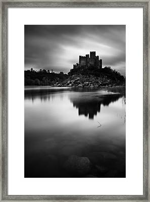The Almourol Castle Framed Print by Jorge Maia