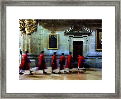 The Altar Boys Framed Print