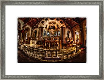 The Alter Framed Print