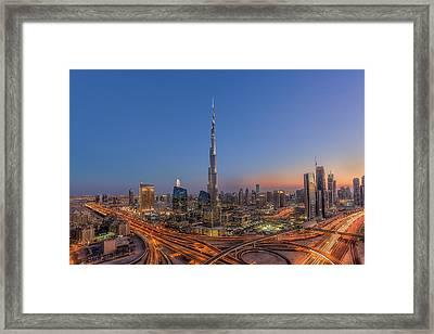 The Amazing Burj Khalifah Framed Print