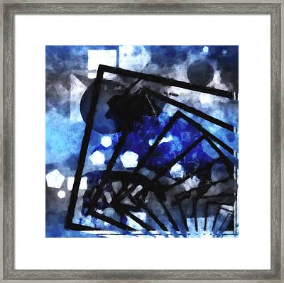 The Amazing Explosion  Framed Print by Tommytechno Sweden