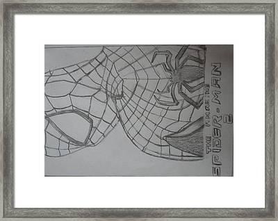 the amazing Spiderman 2 Framed Print by Kishore Nedumaran