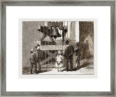 The American Centennial Exhibition, 1876 Liberty Bell Framed Print