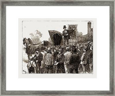 The American Centennial Exhibition, 1876 Framed Print
