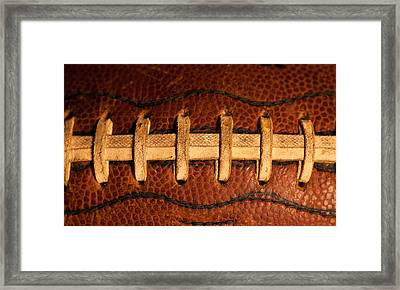 The American Football Framed Print by David Patterson