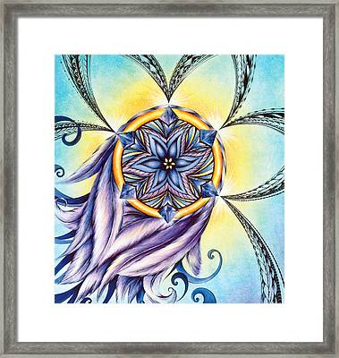 The Amethyst Of Time Framed Print