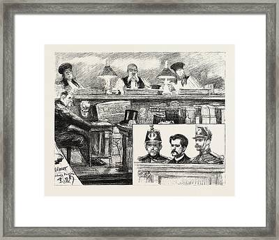 The Anarchists In Paris, France Framed Print