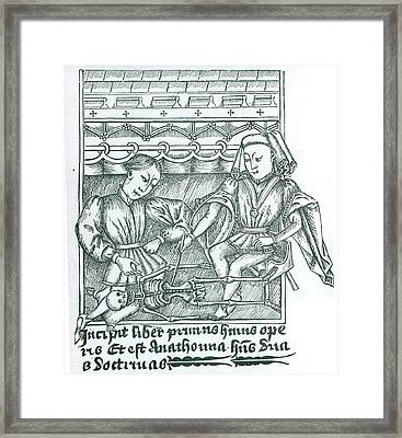 The Anatomy Lesson Framed Print by Universal History Archive/uig