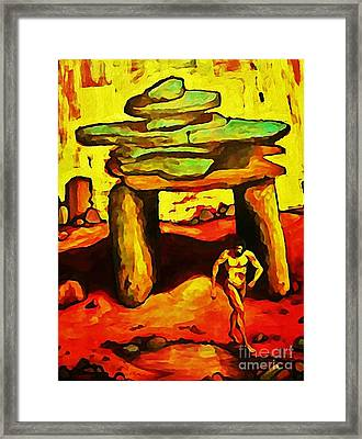 The Ancient Framed Print by John Malone