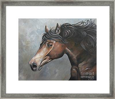 The Andalusian Framed Print