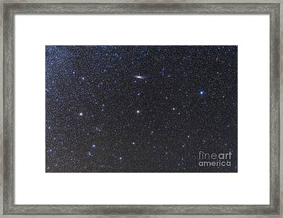 The Andromeda Galaxy And Triangulum Framed Print by Alan Dyer