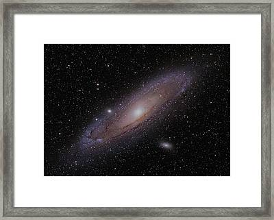The Andromeda Galaxy Framed Print by Brian Peterson