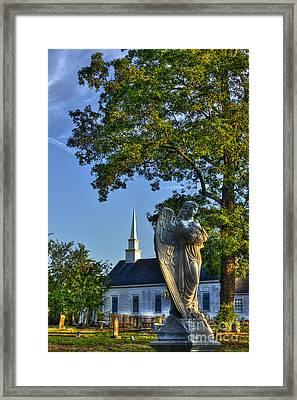 The Angel At Walker Umc Framed Print