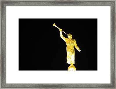 The Angel Moroni Framed Print by Cynthia  Cox Cottam