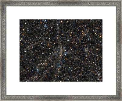 The Angel Nebula Framed Print