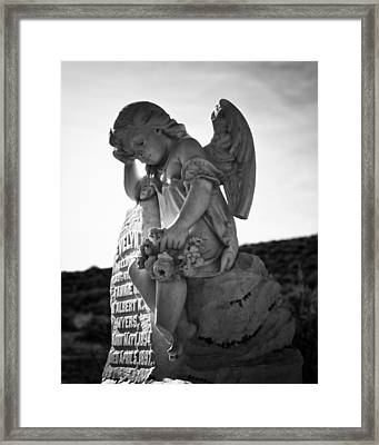 The Angel Of Bodie Framed Print by Troy Montemayor