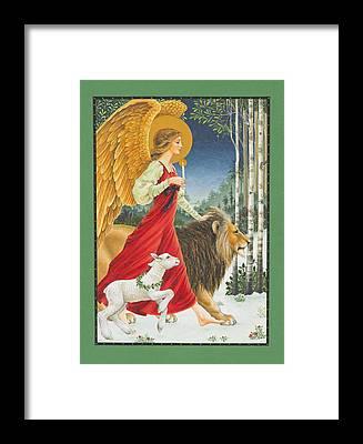 Angel Framed Prints