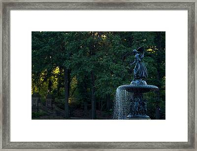 The Angels Of The Waters Framed Print