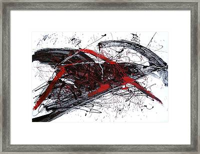 The Anger Framed Print
