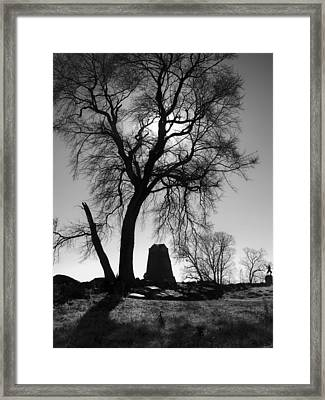 The Angle Framed Print
