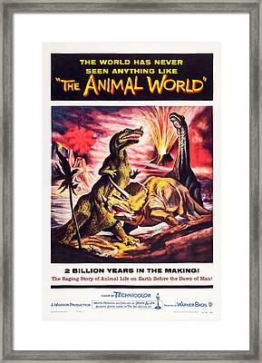The Animal World, Us Poster, 1956 Framed Print